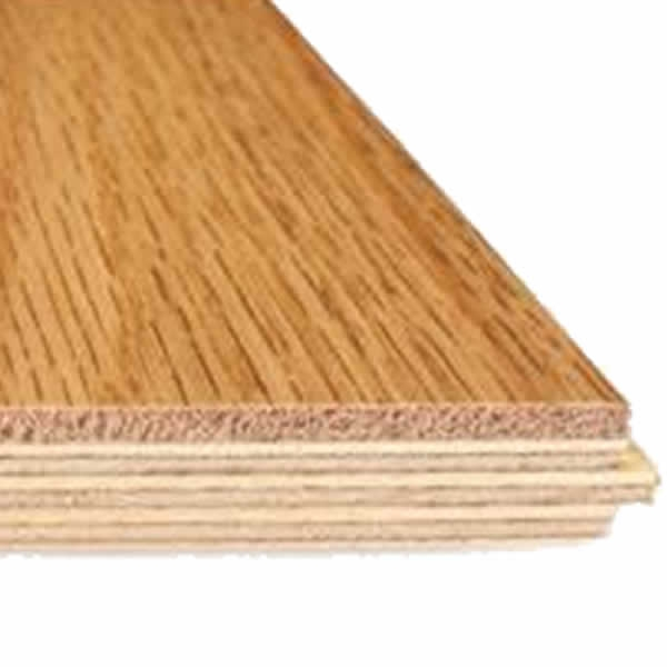 Engineered Board - a timber veneer on three core ply